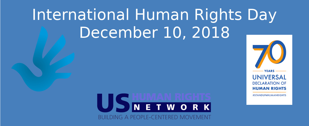 December 10, 2018 is International Human Rights Day