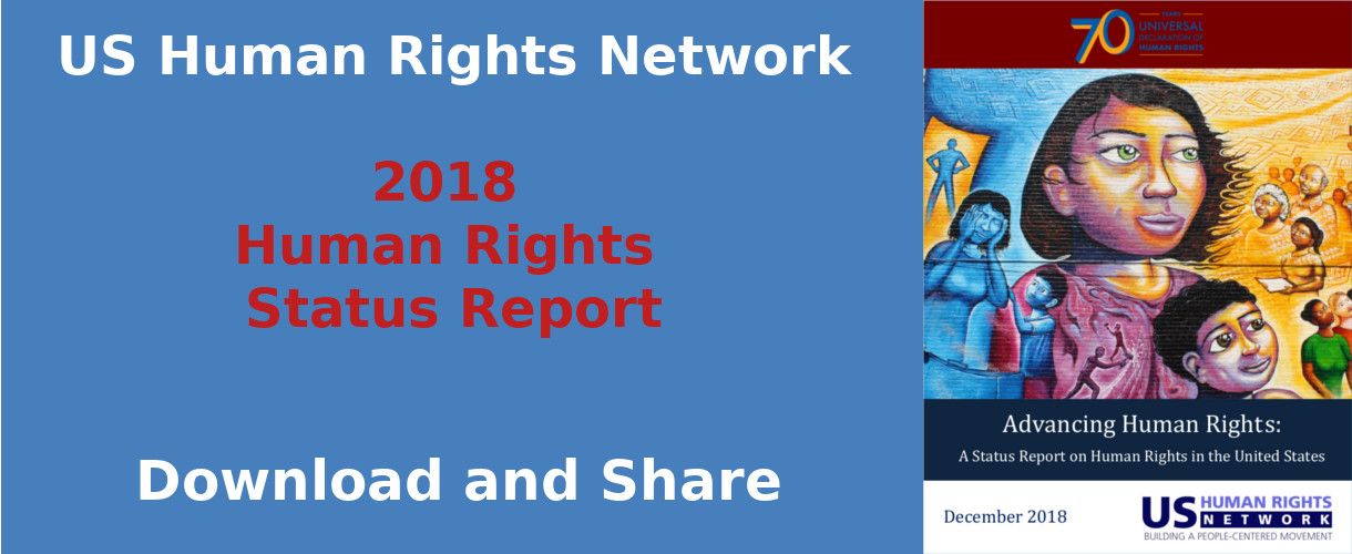 USHRN Report: 2018 Status of Human Rights in the US