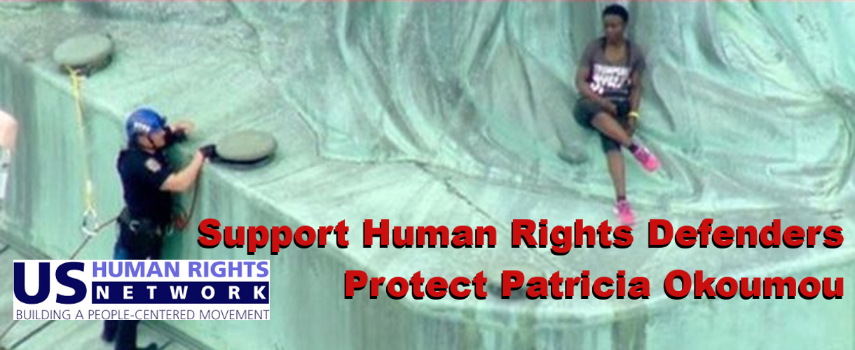 Support Human Rights Defender Patricia Okoumou